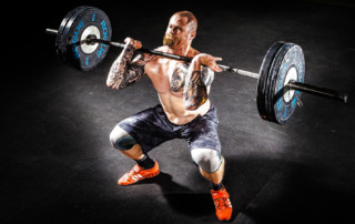 NOX Academy - Intenta esta variable del Front Squat para evitar dolor.